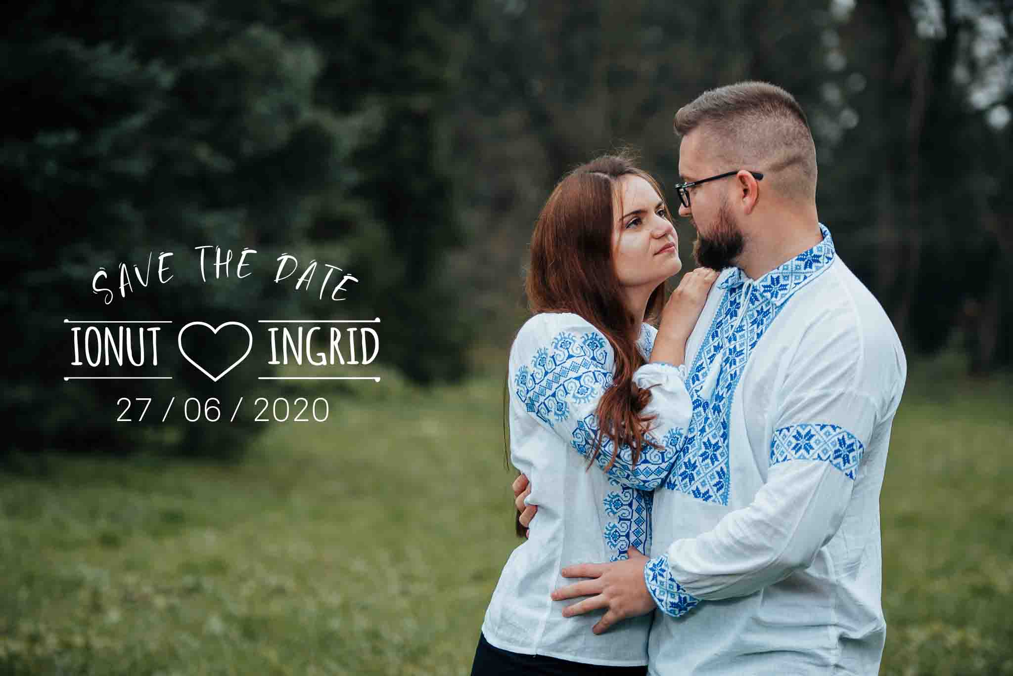 Ingrid si Ionut - Save The Date